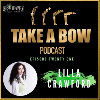 Listen to Lilla Crawford on the Latest Episode of TAKE A BOW Photo
