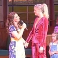 VIDEO: WAITRESS and Amanda Kloots Pay Tribute to Nick Cordero on Opening Night Photo