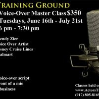 Actors Training Ground Presents Voice-Over Master Class With V.O. Artist Wendy Zier