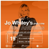 Jo Whiley Brings '90s Anthems Party to Bexhill Photo