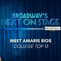 Meet the Next on Stage Top 15 Contestants - Amaris Rios