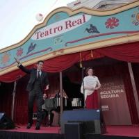 El Teatro Real prepara su carroza para el Día Mundial de la Ópera Photo