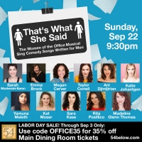 THAT'S WHAT SHE SAID! THE WOMEN OF THE OFFICE MUSICAL Heads to Feinstein's/54 Below Photo
