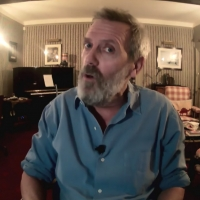 VIDEO: Hugh Laurie Talks About Working With Emma Thompson on LATE NIGHT WITH SETH MEY Photo