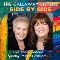 Liz and Ann Hampton Callaway Will Perform Virtual Concert, SIDE BY SIDE, This May Photo