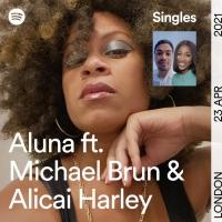 ALUNA Releases New Spotify-Exclusive Single 'Trouble' Photo