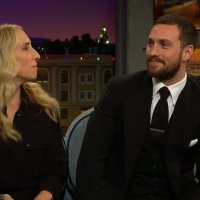VIDEO: The Taylor-Johnsons Talk About Working Together on THE LATE LATE SHOW WITH JAM Video