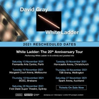David Gray Reschedules Australia-New Zealand Dates For 'White Ladder: The 20th Annive Photo