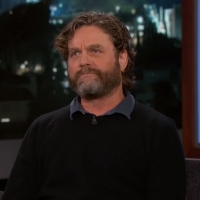 VIDEO: Watch Zach Galifianakis Tell Jimmy Kimmel a Story About His Son