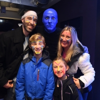 Blue Man Group Boston Kicks Off 25th Anniversary Celebration During February School V Photo