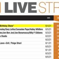 Deana Martin Hits Pollstar's Top Spot On Worldwide Livestream Chart For Week Of June  Photo