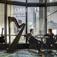 Guitarist Rez Abbasi & Harpist Isabelle Olivier Tour In Support Of 'Oasis' Photo