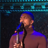 VIDEO: Christian Dante White Sings 'The Music That Makes Me Dance/I Got Lost In His A Photo