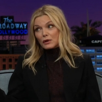 VIDEO: Michelle Pfeiffer Talks GREASE 2 on THE LATE LATE SHOW WITH JAMES CORDEN