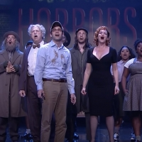 VIDEO: Jeremy Jordan and the Cast of LITTLE SHOP OF HORRORS Perform 'Little Shop of Horrors' and 'Skid Row' on THE TONIGHT SHOW