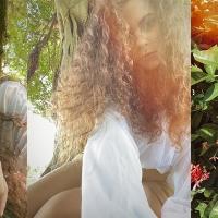 JULIA BHATT Releases Fortuitously Ironic 'Bird Girl' Photo