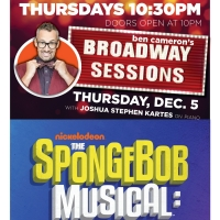 The Cast of THE SPONGEBOB MUSICAL Will Reunite At Broadway Sessions This Week Photo