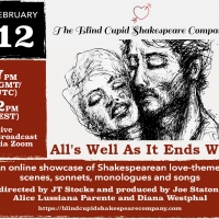 The Blind Cupid Shakespeare Company To Host All's Well As Long As It Ends Well To Rai Photo