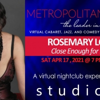 Rosemary Loar Joins MetropolitanZOOM Family with CLOSE ENOUGH FOR LOVE on April 17th Photo