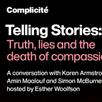 Complicité Announces TELLING STORIES: TRUTH, LIES AND THE DEATH OF COMPASSION Photo