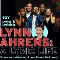 LYNN AHRENS: A LYRIC LIFE  to Premiere Digitally, Featuring Nikki Renée Daniels, Bra Photo