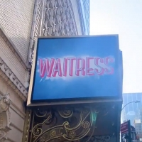 VIDEO: Marquee for WAITRESS Goes Up at the Ethel Barrymore Theatre! Photo