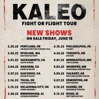 Kaleo Announces Additional Dates for 'Fight or Flight' Tour Photo