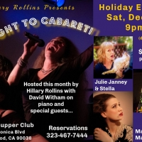 Hillary Rollins Presents MaryJo Mundy In THE RIGHT TO CABARET At The Gardenia Supper Photo