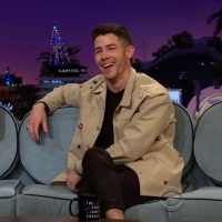 VIDEO: Nick Jonas Talks About His Dog's Instagram Feuds on THE LATE LATE SHOW Photo