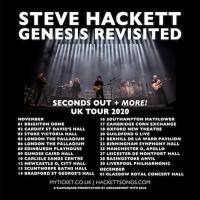 Steve Hackett Announces Seconds Out Tour for November 2020 Photo