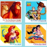 Walt Disney Records Releases Collectible 3-Inch Vinyl For Classic Singles Photo