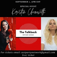 BWW Interview: Ruby Locknar of THE TALKBACK WITH RUBY LOCKNAR on The Cast Party Netwo Photo