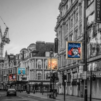 Photo Flash: Shining a Light on the Dark Theatres of the West End