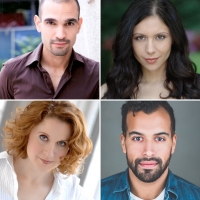 Javier Munoz, Christiane Noll, Erin Leddy, Brandon Contreras Set For Play Reading Fri Photo