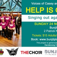 Help Is On Its Way This Sunday At Bunjil Place