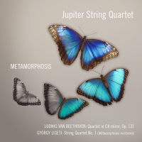 Jupiter String Quartet Releases New Album 'Metamorphosis' June 12