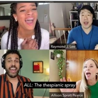 VIDEO: Raymond J. Lee, Storm Lever, Joél Pérez and Allison Spratt Pearce Sing 'I Miss the Photo
