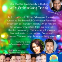 Diana DeGarmo, Ace Young & More to Star in Live-Stream Fundraiser Thursday Night Photo