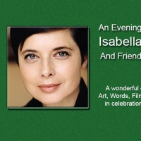 Isabella Rossellini Will Headline a One-Night Only show in Support of the Gateway