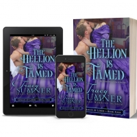Tracy Sumner Releases New Regency Romance THE HELLION IS TAMED Photo