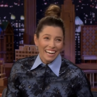 VIDEO: Watch Jessica Biel Talk About Her Anniversary on THE TONIGHT SHOW WITH JIMMY F Video