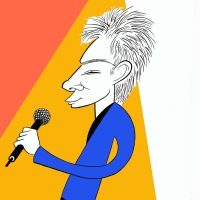 BWW Exclusive: Ken Fallin Draws the Stage - Barry Manilow Photo