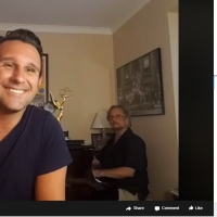 BWW Review: Mike Renzi And Nicolas King Master The Live Streaming Concert in MIKE REN Photo