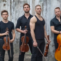 Chiseled Men's Singing String Quartet At The Gracie Theatre Is Well-Strung
