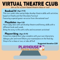 Playhouse Theatre Academy Announces Virtual Theatre Club