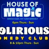 Delirious Comedy Club Brings House Of Magic & Special Guest Pauly Shore To Las Vegas Lineu Photo
