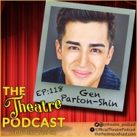THE THEATRE PODCAST WITH ALAN SEALES Presents Gen Parton-Shin Photo