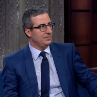 VIDEO: John Oliver Says His First Crush Was On Eyore on THE LATE SHOW WITH STEPHEN CO Photo