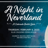 Colorado Ballet To Host Peter Pan Themed 'A Night In Neverland' Gala