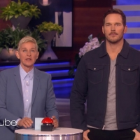 VIDEO: Chris Pratt Gets Fans Messy on THE ELLEN SHOW Photo